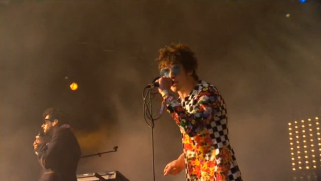 mgmt glastonbury 2010